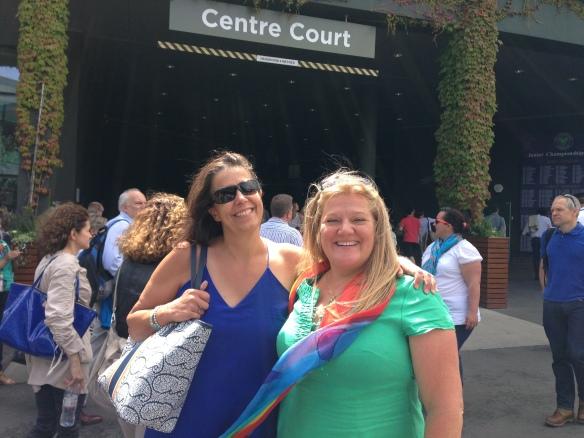 Jen&I centrecourt