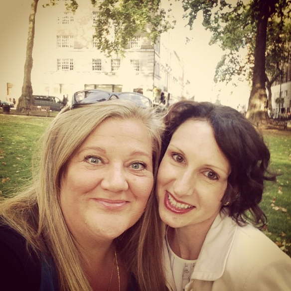 Selfie with Kelly in Berkeley Square